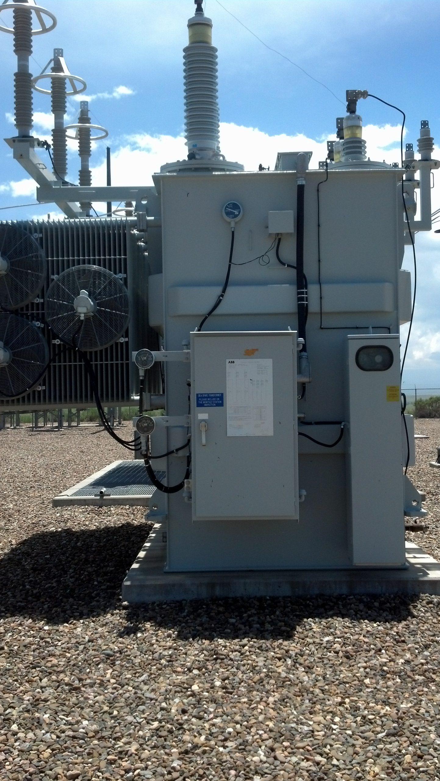 220kV three phase on load voltage regulator HV power